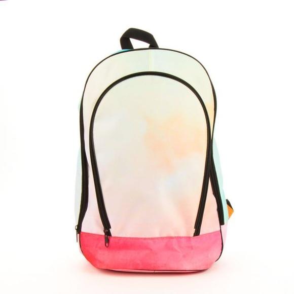 Paper Destiny Handbags - Paper Destiny Rainbow Cloud Backpack